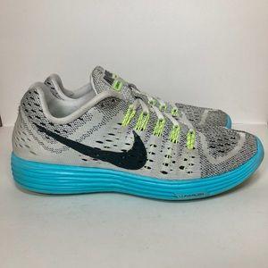 Nike Lunar Tempo Light Blue Running Shoes